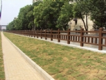 水泥仿木桥梁、河堤护栏
