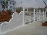 石雕花河堤护栏